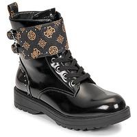 Sapatos Mulher Botas baixas Guess WANDA Preto