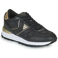 Sapatos Mulher Sapatilhas Guess SAMSIN4 Preto