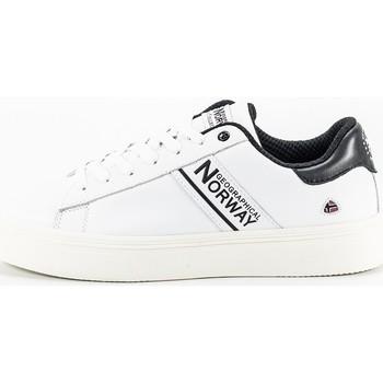 Sapatos Homem Sapatilhas Geographical Norway HANSON blanc