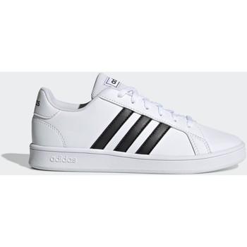 Sapatos Homem Sapatilhas adidas Originals Grand court k EF0103 Branco