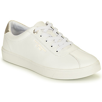 Sapatos Mulher Sapatilhas Tommy Hilfiger COURT LEATHER SNEAKER Branco