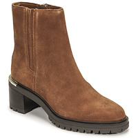 Sapatos Mulher Botas baixas Tommy Hilfiger TH OUTDOOR MID HEEL BOOT Conhaque