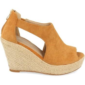 Sapatos Mulher Sandálias Tephani AB-210 Camel