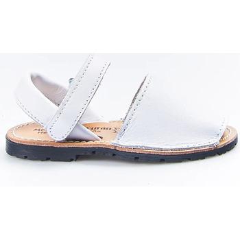 Sapatos Rapariga Sandálias Huran Sandalias Menorquinas 551 Blanco Branco