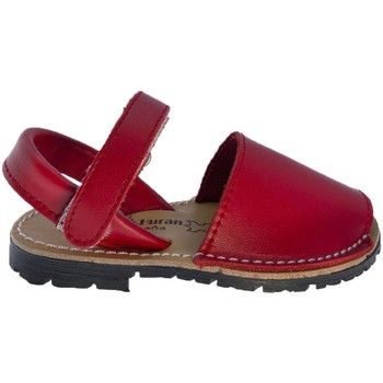 Sapatos Criança Sandálias Huran Sandalias Menorquinas 551 Rojo Vermelho