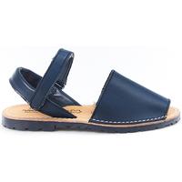Sapatos Criança Sandálias Huran Sandalias Menorquinas 551 Marino Azul