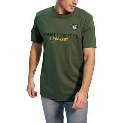 Textil Homem T-Shirt mangas curtas Kaporal TEFAR Verde