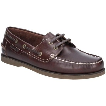 Sapatos Homem Sapato de vela Hush puppies  Brown