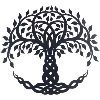 Casa Quadros, telas Signes Grimalt Enfeite De Árvore De Parede Negro