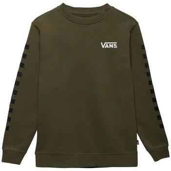 Textil Rapaz camisolas Vans Camisola By Exposition Check Crew Grape Leaf/Black