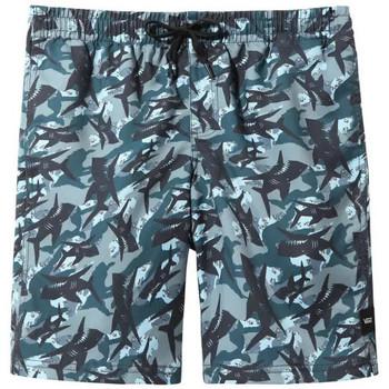Textil Rapaz Fatos e shorts de banho Vans Calções  By Mixed Volley Shark Camo - Kids