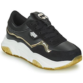Sapatos Rapariga Sapatilhas Karl Lagerfeld KALIMA Preto / Ouro