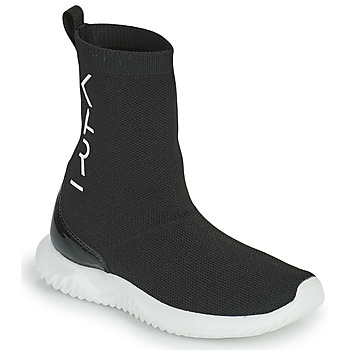Sapatos Rapariga Sapatilhas de cano-alto Karl Lagerfeld HEROS Preto