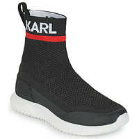 Sapatos Rapaz Sapatilhas de cano-alto Karl Lagerfeld PELINDRA Preto