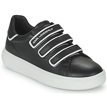 Sapatos Criança Sapatilhas Karl Lagerfeld GOLINDA Preto