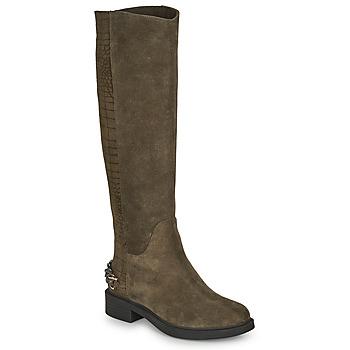 Sapatos Mulher Botas Elue par nous KOFESS Cáqui