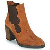 Sapatos Mulher Botins Elue par nous KOISSON Camel
