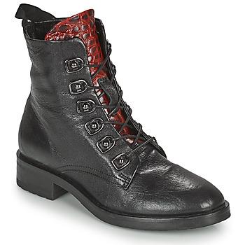 Sapatos Mulher Botas baixas Metamorf'Ose KARDIESSE Preto