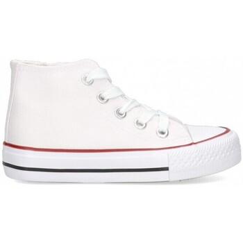 Sapatos Rapariga Sapatilhas de cano-alto Luna Collection 56834 branco