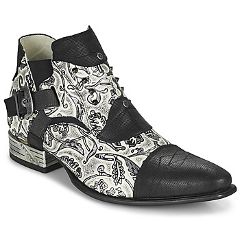 Sapatos Homem Sapatos New Rock M-NW135-C12 Branco / Preto