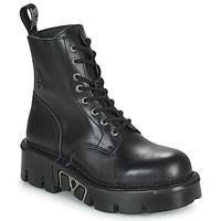 Sapatos Botas baixas New Rock M-MILI084N-S3 Preto