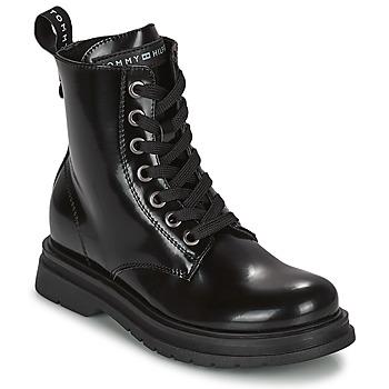 Sapatos Rapariga Botas baixas Tommy Hilfiger T4A5-32009-0776999 Marinho