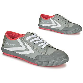 Sapatos Homem Sapatilhas Feiyue STAPLE X FE LO 1920 Cinza / Branco