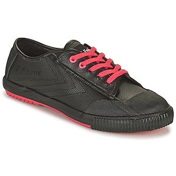 Sapatos Homem Sapatilhas Feiyue STAPLE X FE LO 1920 Preto / Preto