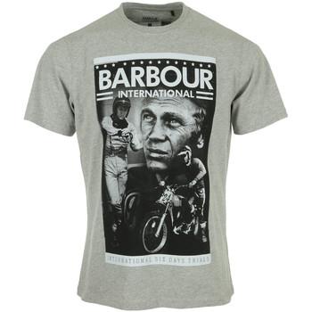 Textil Homem T-Shirt mangas curtas Barbour Combo SMQ Tee Cinza