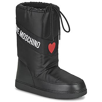 Sapatos Mulher Botas de neve Love Moschino JA24032G1D Preto