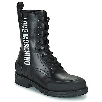 Sapatos Mulher Botas baixas Love Moschino JA24184G1D Preto