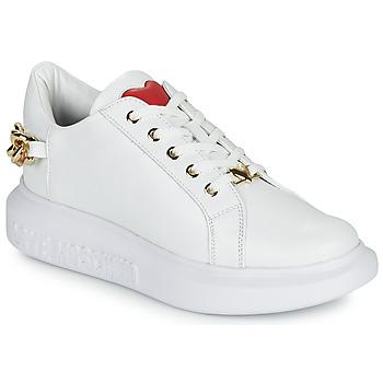 Sapatos Mulher Sapatilhas Love Moschino JA15144G1D Branco