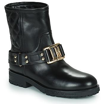 Sapatos Mulher Botins Love Moschino JA21224G0D Preto