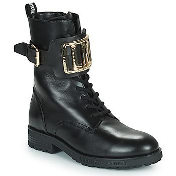 Sapatos Mulher Botins Love Moschino JA21374G0D Preto
