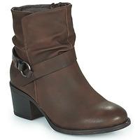Sapatos Mulher Botins Emmshu FLEUR Castanho