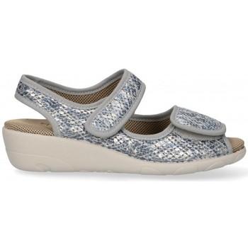 Sapatos Mulher Sandálias Garzon 54983 cinza