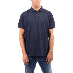 Textil Homem Polos mangas curta Elpulpo  Azul