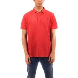 Textil Homem Polos mangas curta Elpulpo  Rojo