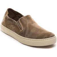 Sapatos Homem Slip on Natural World  Marrón
