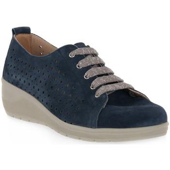 Sapatos Homem Sapatos Grunland BLU 68DAPE Blu