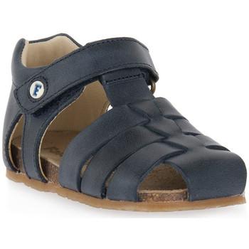 Sapatos Rapaz Sandálias Naturino FALCOTTO 0C01 ALBY BLEU Blu