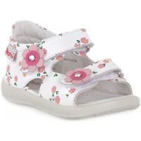 Sapatos Rapaz Sandálias Naturino FALCOTTO 0N01 BESENVAL WHITE Bianco
