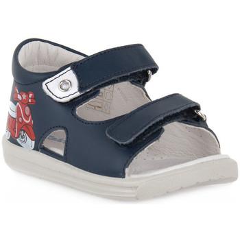 Sapatos Rapaz Sandálias Naturino FALCOTTO 0C02 BLAVET NAVY Blu
