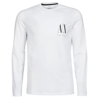 Textil Homem T-shirt mangas compridas Armani Exchange 8NZTPL Branco