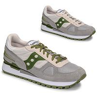 Sapatos Homem Sapatilhas Saucony SHADOW ORIGINAL Cinza / Verde