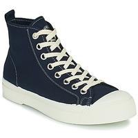Sapatos Mulher Sapatilhas de cano-alto Bensimon STELLA B79 Azul