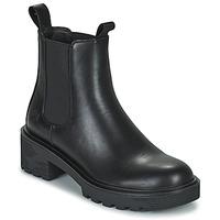 Sapatos Mulher Botas baixas Lumberjack RAMONE BEATLES Preto