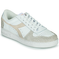 Sapatos Mulher Sapatilhas Diadora MAGIC BASKET LOW ICONA WN Branco / Rosa