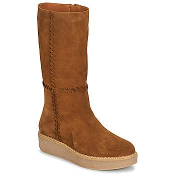 Sapatos Mulher Botas Castaner NUCHA Conhaque