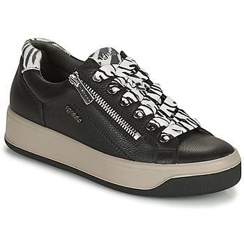 Sapatos Mulher Sapatilhas IgI&CO DONNA AVA Preto